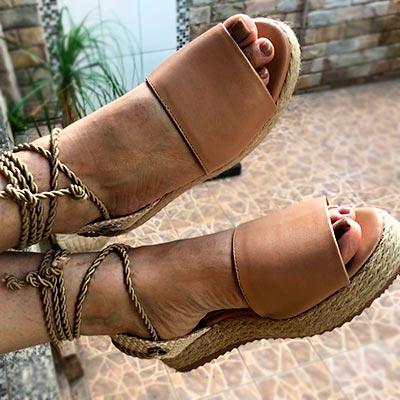 Sanália Flat Form | Bárbara Faria Calçados