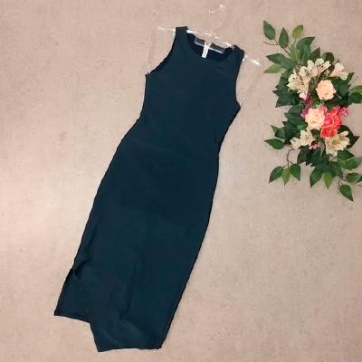 Vestido Midi Azul | Della Store