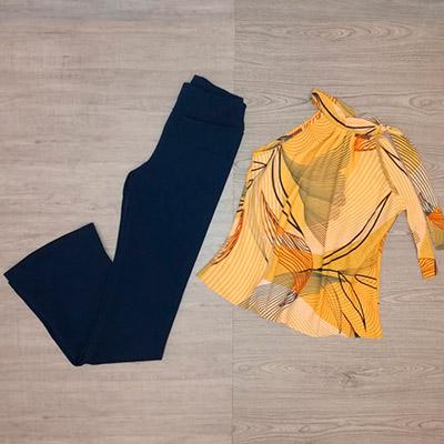 Blusa Feminina Estampada | Elegance