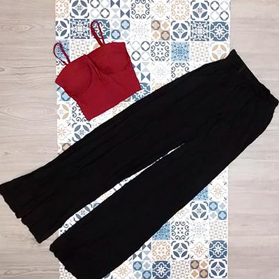 Calça Pantalona Feminina | Brisa Modas