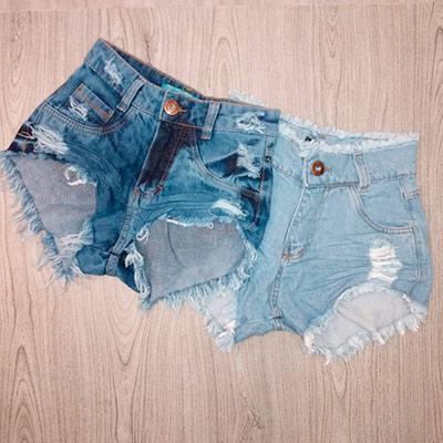 Short Jeans Diversas | Honraria Jeans