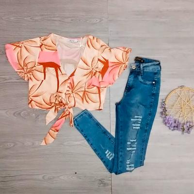 Conjunto Blusa e Calça | Menina Doce