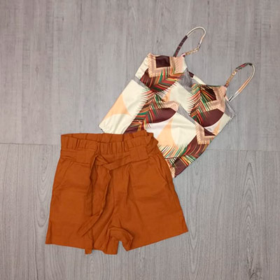 Short Feminino Color | Sam Modas