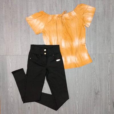 Blusa Ciganinha Color | BZs Modas