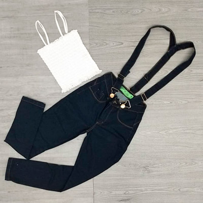 Salopete Jeans Adulto | Look Jeans