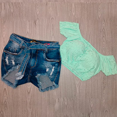 Short Jeans Feminino | Look Jeans