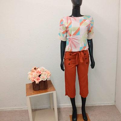 Conjunto Calça e Blusa | Amora Moda Feminina