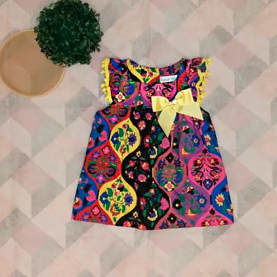 Vestido Infantil Colorido | Vestido Bia