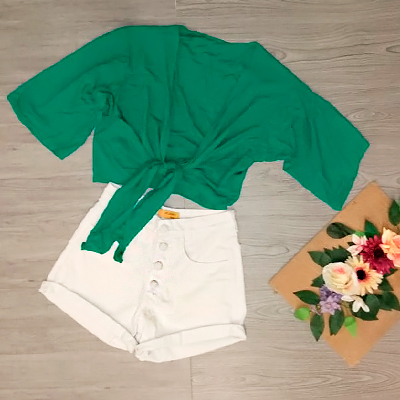 Conjunto Short e Cropped | Shop 164