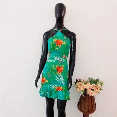 Vestido Curto Floral | Isadora Modas