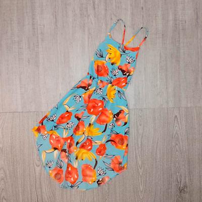 Vestido Estampado Infantil | Pingo de Gente