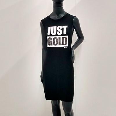 Vestido Preto Estampado | De La Soul