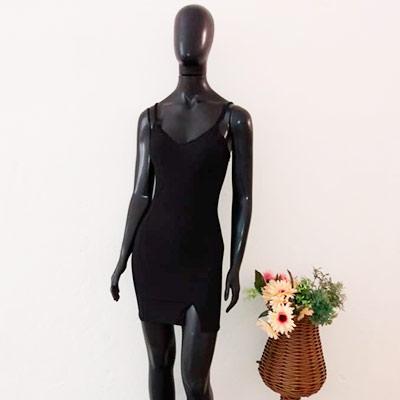 Vestido Preto Alcinha | Pink Store