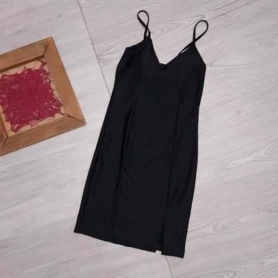 Vestido Preto Fenda | Pink Store