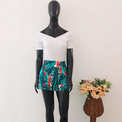 Conjunto Short e Body | Sandrelê