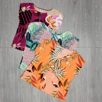 Blusas Femininas Estampadas | B Look