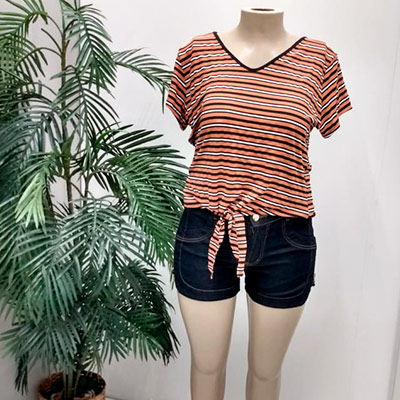 Bermuda Jeans Feminino | Klara Fashion