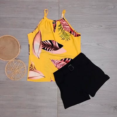 Conjunto Regata e Short | Blessed