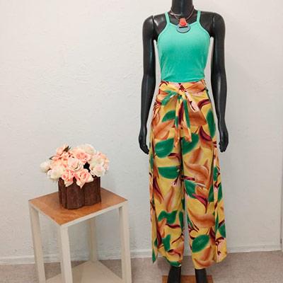 Conjunto Calça e Cropped | Byanca Modas