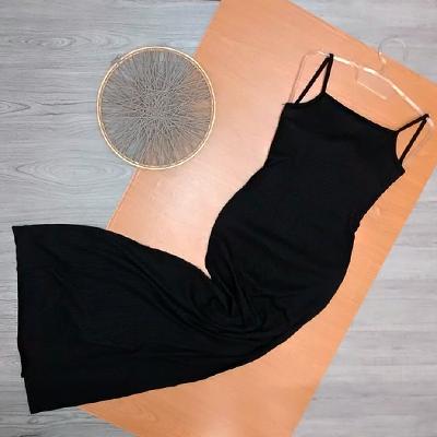 Vestido Longo Liso | Tita Moda