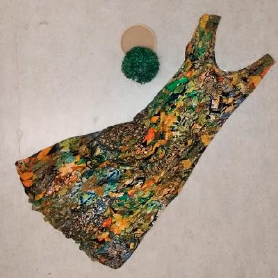 Vestido Color Longo | Autêntica Moda Feminina