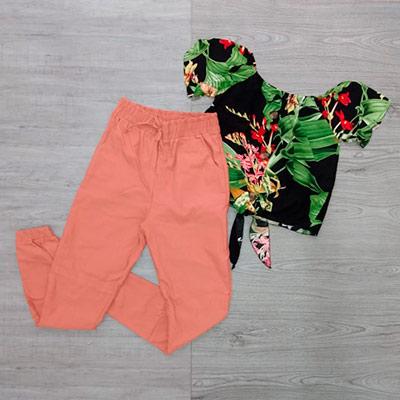 Conjunto Calça e Blusa | Isabela Victória