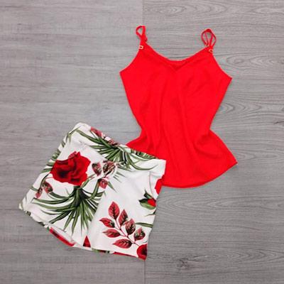 Conjunto Short e Regata | Elegance Modas