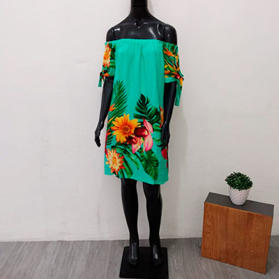 Vestido Ciganinha Estampado | Juju Modas
