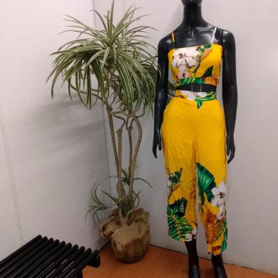 Conjunto Calça e Cropped | Elegante
