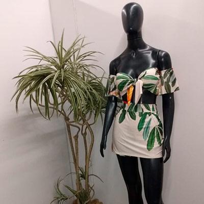 Conjunto Saia e Cropped | Arleninha Modas