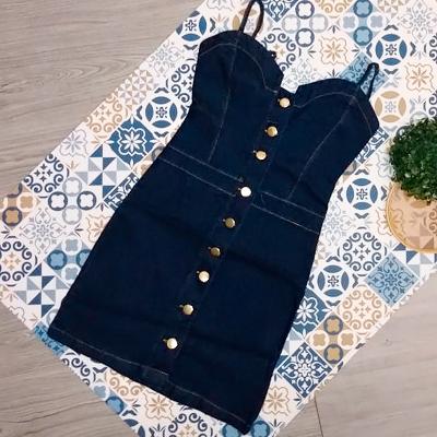 Vestido Jeans Curto | Explosão do Jeans