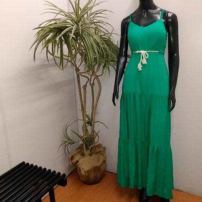 Vestido Longo Amarração | Top Charme da Jú