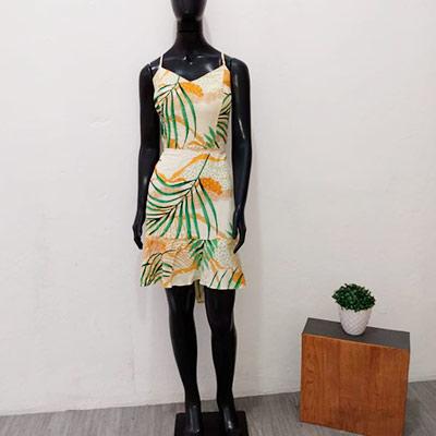 Vestido Estampado Alcinha | Style Store