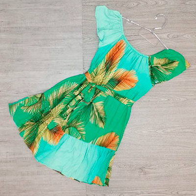Vestido Ciganinha Estampado | Mania de Ser Bonita