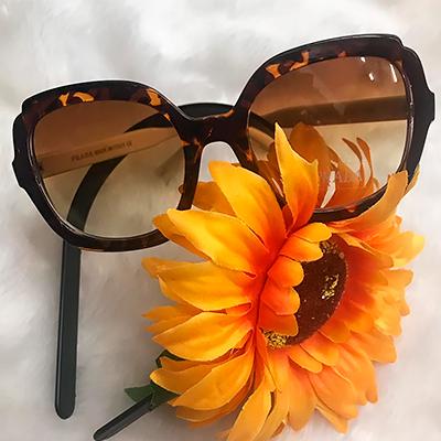 Óculos de Sol Marrom | Isabela Fashion