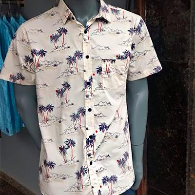 Camisa Masculina Estampada | Mil Grau BH