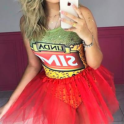 Body Temático Carnaval | Jessica Nunes Vestuário