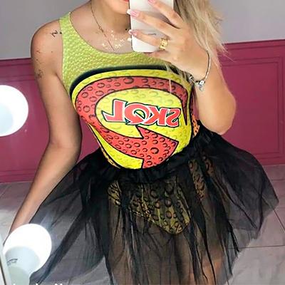 Body Estampado Suplex | Jessica Nunes Vestuário