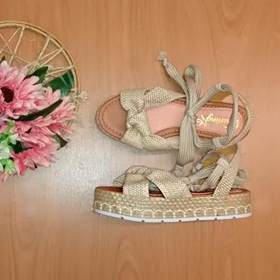 Sandália Flat Form | Rafanda Calçados