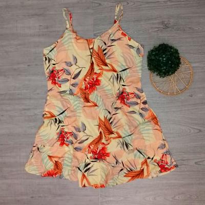 Vestido Estampa e Alça | Thais Modas