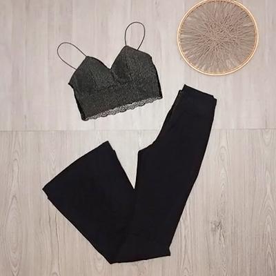 Conjunto Calça e Cropped | Brend Store