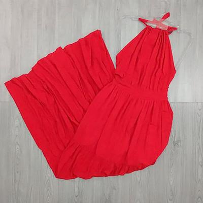 Vestido Longo Vermelho | Maju Modas