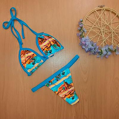 Biquíni Fita Estampado | Bikini.com