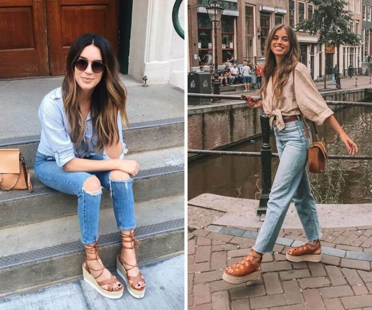 tendência sandália de amarração dicas blog feira shop bh