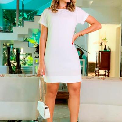 Vestido Curto Reto | Anna Morena