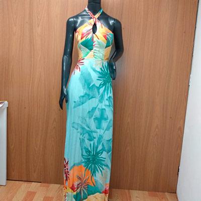 Vestido Longo Estampado | Tribo da Moda