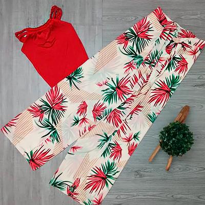 Conjunto Blusa e Calça | Tribo da Moda