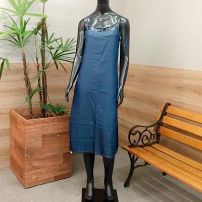 Vestido Midi Azul | Josiane Modas