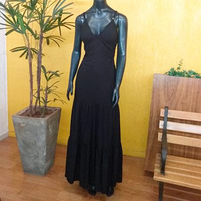 Vestido Longo Alcinha | Gilbert Modas