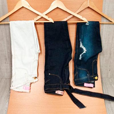 Calças Jeans Diversas | Fafá Modas